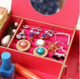 Коробка хранения нового типа фабрики Super-Large косметическая, коробка хранения DIY деревянная Desktop