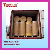 Rollo Jumbo BOPP Cinta adhesiva para corte longitudinal fabricante