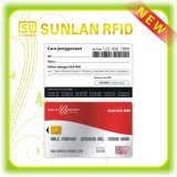 Cartão esperto sem contato personalizado de RFID