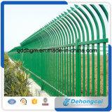 Загородка высокого качества, загородка Ornametal, сильная загородка, загородка длинной жизни, конструкция загородки декоративного высокия уровня безопасности стальная