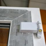 Portello bianco K02022 della stoffa per tendine di profilo di colore UPVC