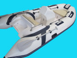 13,12FT Rib Boat, barco de fibra de vidro inflável, barco de pesca desportiva, Rib390c