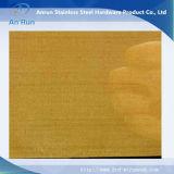 Brass malla de alambre para la filtración y la decoración