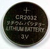 bateria da pilha da moeda de 3V Cr2032