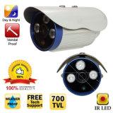 CMOS blanc 700TVL LED IR 3 baies de disques IR-cut étanche de sécurité Bullet Outdoor Caméra CCTV de sécurité de la surveillance de la Russie 10-15 jours