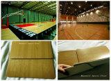 屋内および屋外スポーツの開催地PVCフロアーリングの製造者