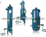 Separatore di olio elicoidale di Resour con il bacino idrico di olio