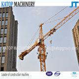 Première grue à la tour Qtz63-PT5610 de pivotement pour la construction