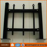 2.4 frontière de sécurité en acier galvanisée par noir de hauteur de la longueur 1.8m