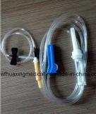 Bomba de infusão esterilizada descartável com agulha