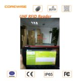 IP65 Android Touch Screen Fingerprint Module PDA avec l'IDENTIFICATION RF d'UHF/Hf, Barcode Scanner