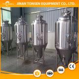 Equipamento da fabricação de cerveja de cerveja de Sanitory da venda quente micro com revestimento refrigerando