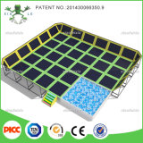 Indoor grande Playground e Kids Indoor Trampoline Bed