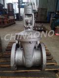 Tipo pneumatico valvola del acciaio al carbonio di globo con la flangia