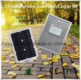 Excelente calidad LED integrado calle la luz solar 8W