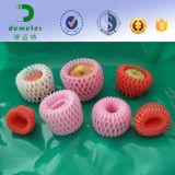 Red del tubo de la protección del embalaje de la fruta de la espuma de la categoría alimenticia de la aprobación de la fábrica FDA EPE para la fruta fresca y las botellas
