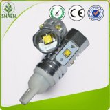 microplaqueta do CREE 25W com a lâmpada do carro do diodo emissor de luz da lente