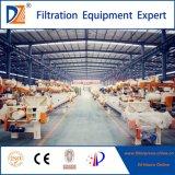Automatische Membranen-Filterpresse für Abwasserbehandlung