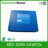 Batteria della batteria di litio 48V 30ah LiFePO4 per il motore elettrico
