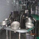 Lavaggio della strumentazione di macellazione del maiale