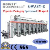 Un ordinateur à grande vitesse Gwasy-l'héliogravure pour les cigarettes papier de la machine