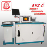 Máquina de dobra Multifunction da letra de canaleta de Bwz-C