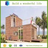 Projeto de aço Prefab luxuoso pré-fabricado popular quente da casa de campo das férias