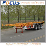 半ISO 20FTの容器の骨組実用的なトラックのトレーラー