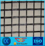 ガラス繊維Geogridへの白いSpunbonded Non-Wovenファブリック接着剤