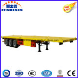 3axles Semitrailer do recipiente do leito 40FT