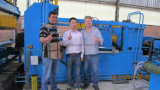 Niederspannungs-Transformator-Punktschweissen-Maschine für Flosse-Prägung