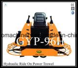 Machine hydraulique de truelle de pouvoir d'hélicoptère avec l'engine Gyp-96h de Kohler