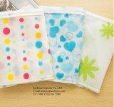 Claro PEVA impermeable prenda de plástico de bolsa, bolsa de plástico para ropa
