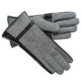 Мужской моды шерсти трикотажные зимние теплые перчатки (YKY5435)