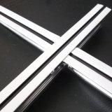Открытые плоские канавку потолка решетки (Средний черная линия 24*32*3600)