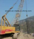 Construction CQUY550 hydraulique Using la grue de chenille pour le levage