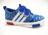 Zapatos a estrenar de los niños del estilo con la parte superior de la lona (ET-LD160150K)