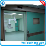 Windowsが付いている権利の開いた自動密閉ドア