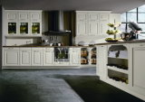 Горячая продажа цельной древесины кухонным шкафом Домашняя мебель #229