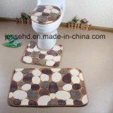 최고 현대 디자인 3PCS 목욕탕 산호 양털 매트