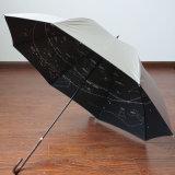 Ouvrir automatiquement le droit de la publicité d'impression personnalisée parapluie à bon marché