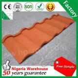 Tuile de toiture en acier en métal enduit plat de pierre de fabrication de Guangzhou