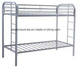 安全寝室の家具の子供階段金属の二段ベッド