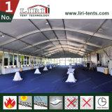 Tenda della cupola di Arcum con le pareti di vetro per l'evento di VIP