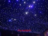 耐火性のビロードが付いている3*6m LEDの星のカーテンの星の布の星の背景幕