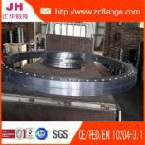 L'acier du carbone transparent de peinture C22.8 DIN2502 Pn16 Plat la bride
