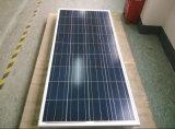 Поли панель солнечных батарей 150W для поручать батарею 12V