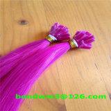 Extensão de cabelo de ponta plana de Fusion Fria de remy indiana de alta qualidade