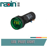 Het voltage die Comité 0V-500V voorstellen zet Lichte LEIDENE van de Indicator Controlelamp op