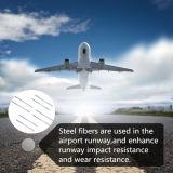 Metall, das anti-zerbrechliche Schnitt-Stahlblech-Faser aufbaut
